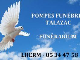TALAZAC Pompes Funèbres