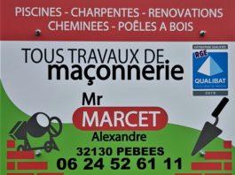 Maçonnerie MARCET